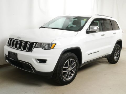 Pre-Owned 2017 Jeep Grand Cherokee 4WD SUV