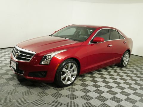 Pre-Owned 2013 Cadillac ATS RWD Sedan