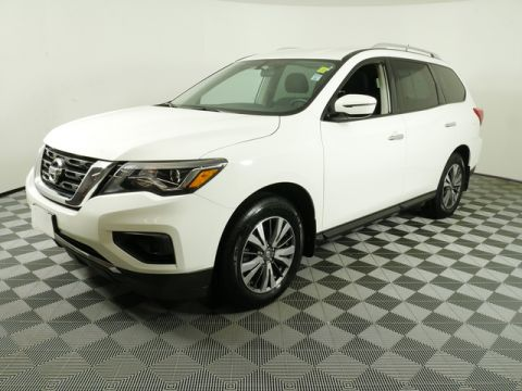 Pre-Owned 2017 Nissan Pathfinder 4WD SUV