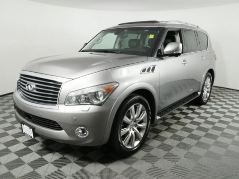 Pre-Owned 2014 INFINITI QX80 4WD SUV
